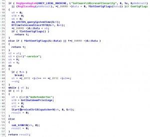 以服务形式启动该文件的代码片段