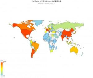 全球漏洞分布图
