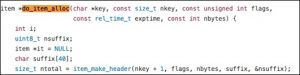 Figure 10 Code section (1) of do_item_alloc