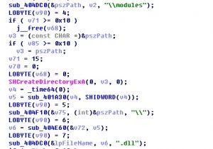 创建放置恶意功能模块的目录