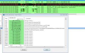 图 8.4 Luabot攻击突破Cloudfare防护过程抓包