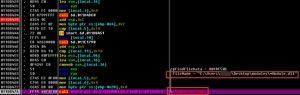 在当前目录的恶意功能模块目录中查找相关模块