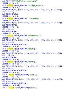 生成json文件的部分选项