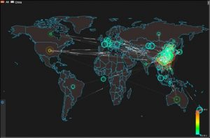 Figure 2-1 Global DDoS attack trend in Q3