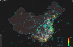 Figure 2-4 DDoS attack trend in China in Q3